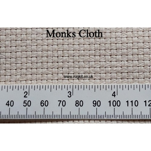 Zweigart Monks Cloth 140cm wide 7 count or 13 count