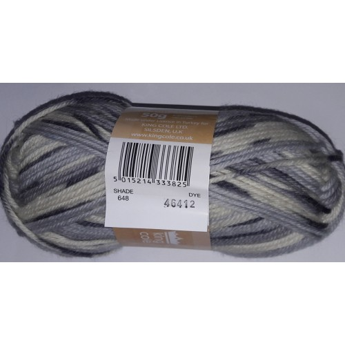King Cole Double Knitting shade 648
