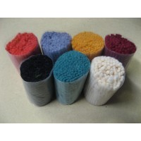 Romney 4 ply end packs from cutting line.