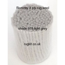 Romney 4ply pure wool 978