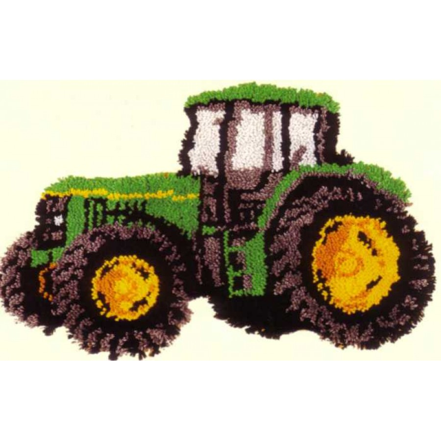 Tractor Latch Hook Rug Making Kit