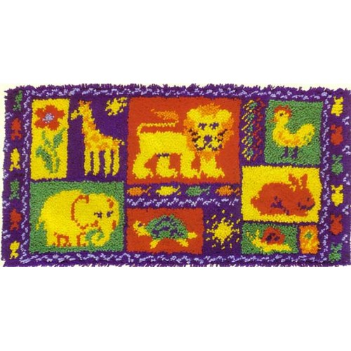 Animal Magic rug kit