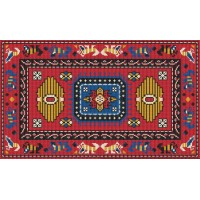 Durango latch hook rug kit