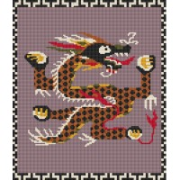 Emperor Dragon rug kit