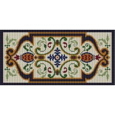 Fiorenza latch hook rug kit