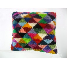 Harlequin cushion kit for beginners