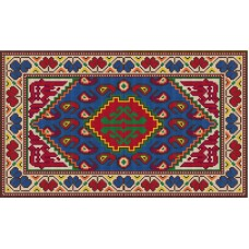 Istanbul latch hook rug kit
