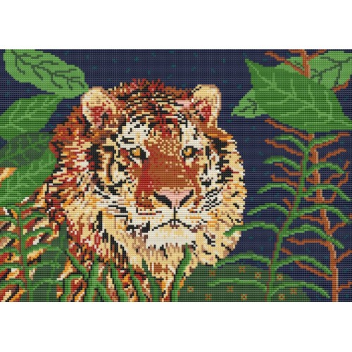 Jungle Tiger rug kit