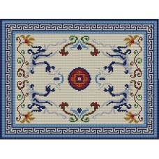 Oriental Dragons rug kit