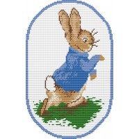 Peter Rabbit rug kit