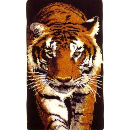 Prowling Tiger rug kit