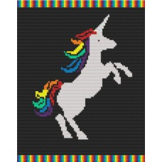Unicorn rug kit