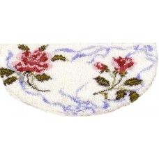Floral Ribbons rug kit