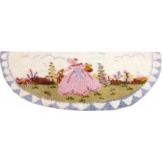 Crinoline Lady rug kit