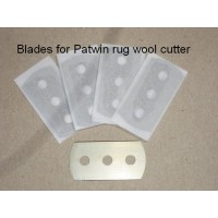 Blades for rug wool cutter