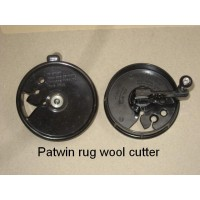 The Patwin rug wool cutter