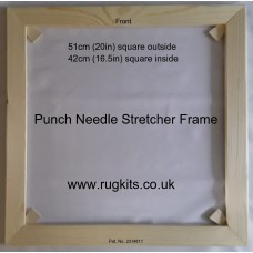 Punch needle and Rag rug stretcher frame various sizes